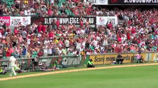 Barmy Army sing Everywhere We Go-3rd day/5th Ashes Test 2011-Sydney SCG Australia