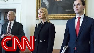 Trump wanted Jared and Ivanka fired, new book claims