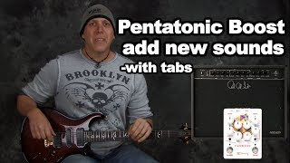 Boost your pentatonics with Dorian mode made easy guitar soloing tips scales with tabs n jam track