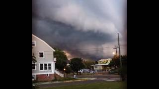 Shelf Cloud Moves Over Cape May as Thunderstorms Hit New Jersey