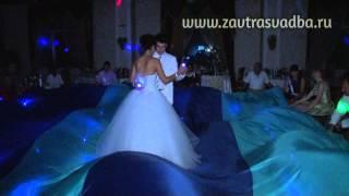 Финал морской свадьбы