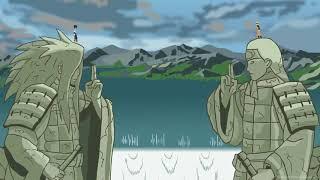 Рисуем мултфильмы 2 Наруто против Саске последняя битва
