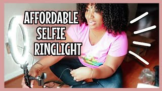 AFFORDABLE Ring Light | Qiaya Selfie Ring Light | Unboxing + Demo