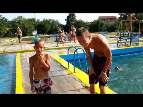 Skakanje u bazen Ada Breza  / Jumping into the pool Ada Breza Challenge Best Fails