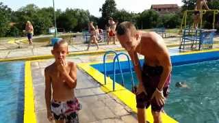 Skakanje u bazen Ada Breza  / Jumping into the pool Ada Breza Challenge Best Fails