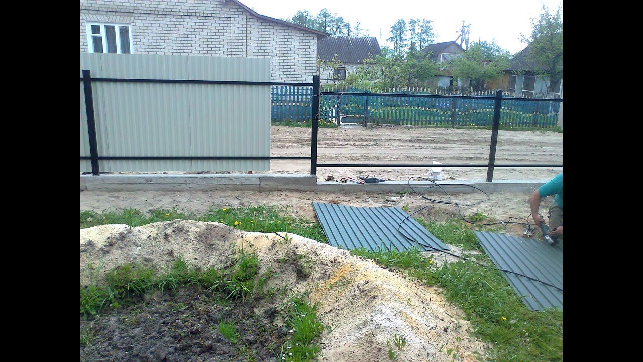 Забор шпалерный своими руками фото 188