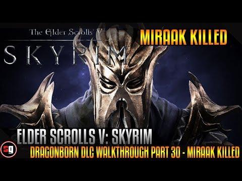 The Elder Scrolls V: Skyrim - Dragonborn DLC Walkthrough Part 30 - Miraak Killed |