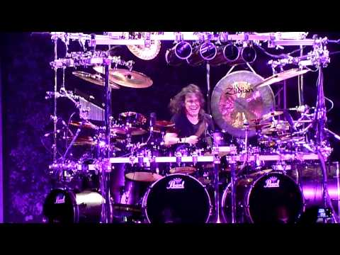 Dream Theater - Mike Mangini drum solo, Crocus City Hall Moscow, 12.07.