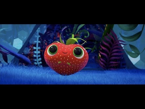 cloudy with a chance of meatballs 2 cute strawberry scene