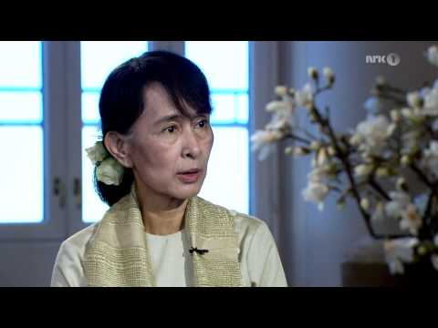 Aung San Suu Kyi - interview for Norwegian television, 16.6.2012