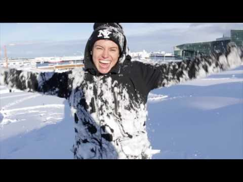 BIGGEST OVERNIGHT SNOWFALL IN REYKJAVIK, ICELAND IN ALMOST 100 YEARS! | Sorelle Amore