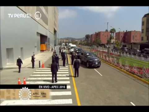 Así recibió el Presidente Kuczynski a líderes APEC en segundo día de Cumbre