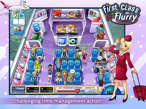 First Class Flurry HD Gameplay - Free On iOS