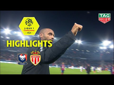 SM Caen - AS Monaco ( 0-1 ) - Highlights - (SMC - ASM) / 2018-19