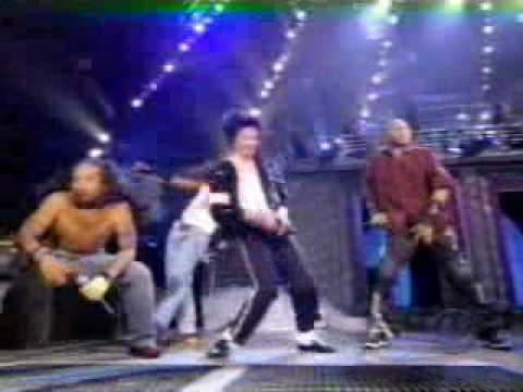 Michael Jackson & Slash – Black or white (live 1995)
