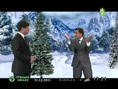 """Taze yyla tayyarlyk "" Turkmen  kino  filim 2012 taze yyl 3 -nji bolum.VOB"