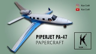 Piper Jet Papercraft by Kun Craft