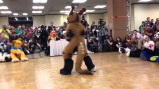 Biggest Little Fur Con 2014 Fursuit Dance Competition -21- Telephone