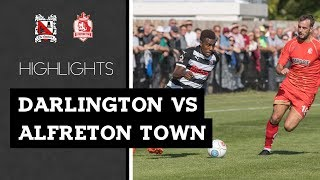 Darlington 0-1 Alfreton Town - Vanarama National League North - 2018/19
