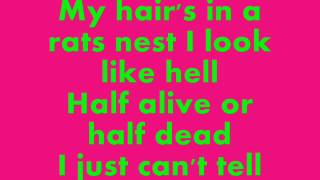 Poison - Look What The Cat Dragged In - Lyrics On Screen