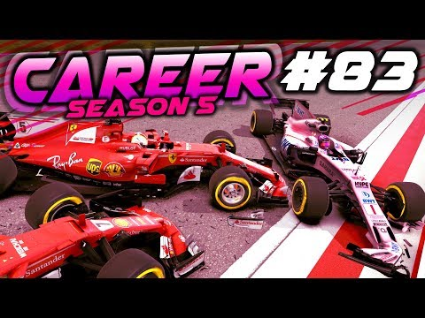 F1 2017 Career Mode Part 83: DISASTER IN THE RACE?!