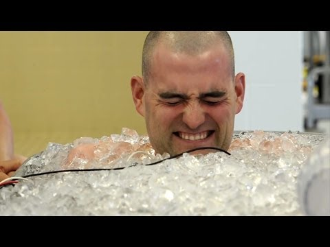 DNR Conservation Officer Training Academy: The Ice Bath