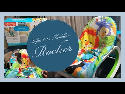 Infant To Toddler Rocker Unboxing And Setup- Fisher-Price