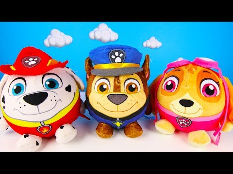 Captain Underpants Saves Paw Patrol Water Balloons from Chase Allergies part 2
