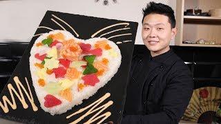Как приготовить Суши Торт на 14 февраля | Рецепты тортов