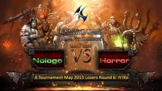 CyberGames DotA May 2015 - Losers Round 6 - Nologo vs Horror