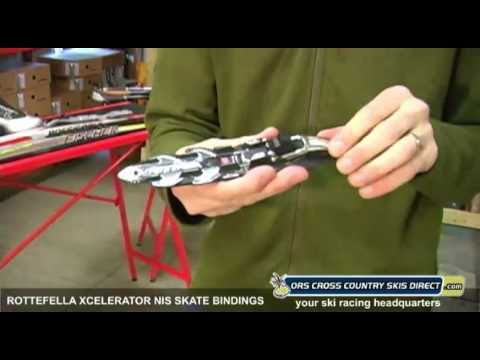a8935ea9a57e Rottefella Xcelerator NIS Skate Ski Bindings Review Video by ORS Cross  Country Skis Direct