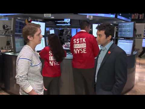 Interview With Shutterstock CEO Jon Oringer at NYSE