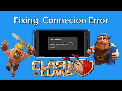 Fixing Connection Error - COC (Clash of Clans) - EASY
