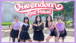 RED VELVET(레드벨벳) - QUEENDOM(퀸덤) DANCE COVER | YES OFFICIAL