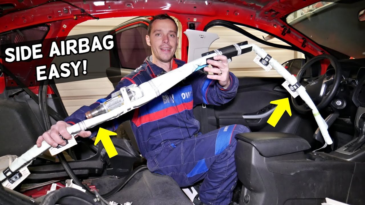 how to replace side curtain airbag on car side air bag removal