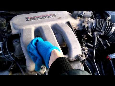How To Spark Plugs Intake    3       0    DOHC Ford Taurus HTWL  YouTube