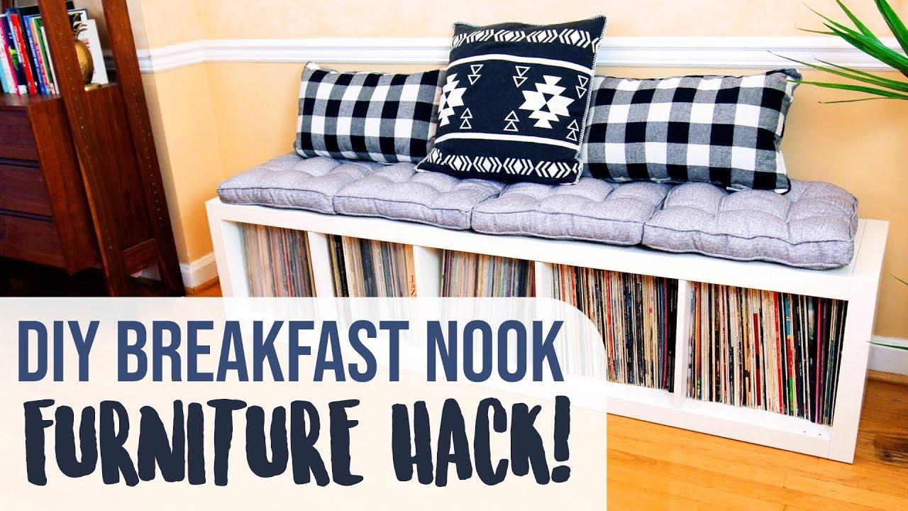Diy Renter Friendly Breakfast Nook In A Small Space Hgtv Handmade Youtube