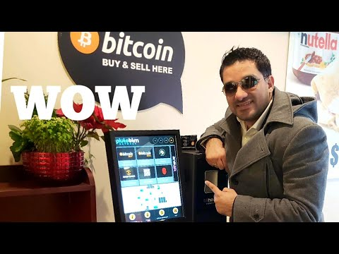 Buying Bitcoin from ATM Live !!