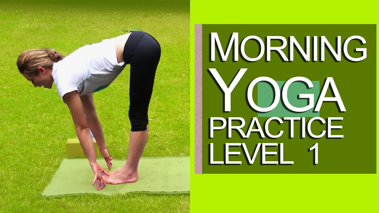 Morning Yoga Practice lesson 1 Level 1