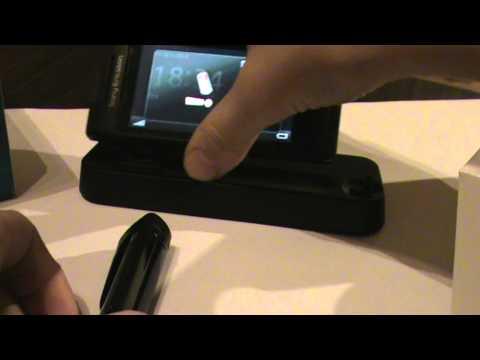 Sony Ericsson Aino Unboxing PL(mini Test)