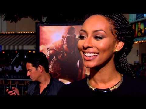 Riddick: Keri Hilson World Premiere Interview