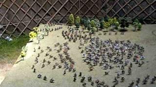 De sagittis Hungarorum libera nos, Domine! A. D. 937. battle diorama