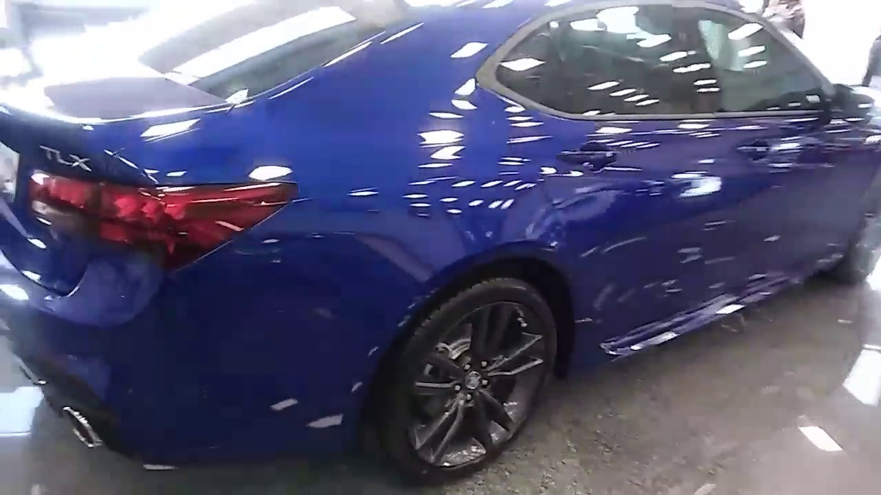 2018 Acura Tlx V6 Technology Package A Spec