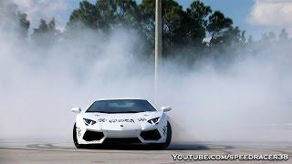Lamborghini Aventador donuts