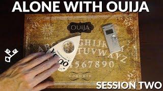 evp captured during ouija board session