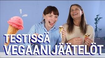 VEGAANIJÄÄTELÖT TESTISSÄ – Vegaanista perunajätskiä?!