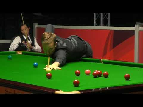 Ali Carter vs Luo Honghao - Scottish Open Snooker 2018-. THE RONNIE O'SULLIVAN