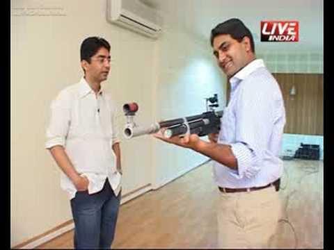 Abhinav Bindra and his GUN
