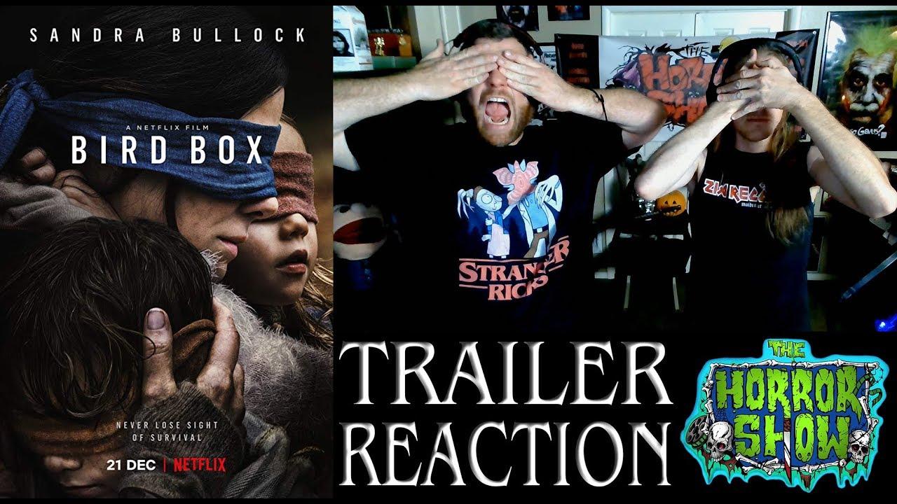Bird Box 2018 Netflix Movie Trailer Reaction The Horror Show