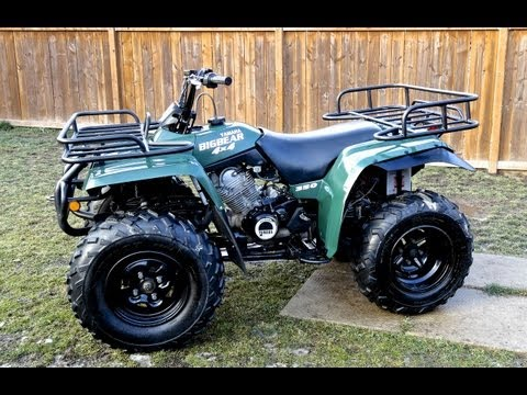 Yamaha Big Bear ATV Gets Some Love And A New CV Boot - Nov.11 2012
